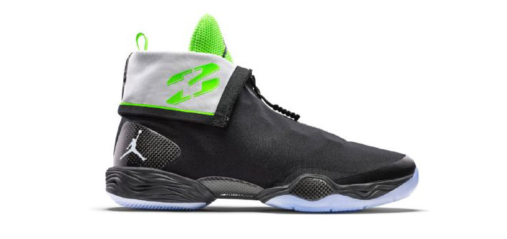 31ec659b9c63 AIR JORDAN XX8. 2013. A zipper front that folded down neatly to reveal  Michael s famous jersey number
