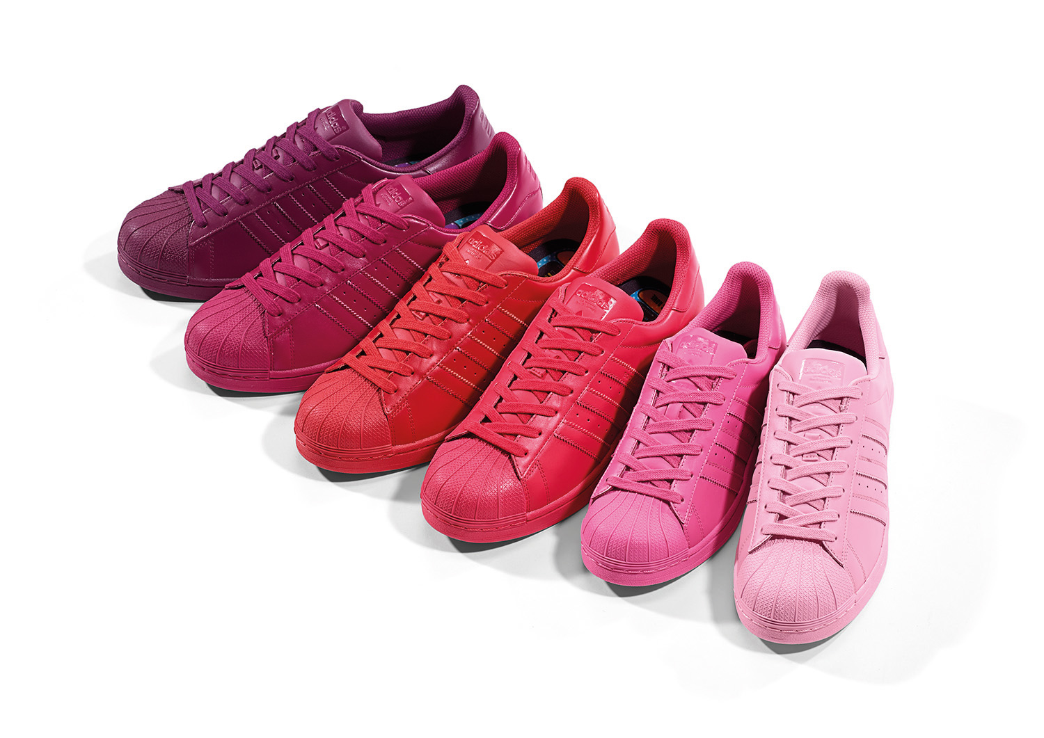 "finest selection 6c20a 7655f adidas Originals x Pharrell ""Supercolor"" Superstar pack ..."